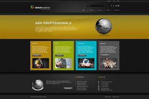 Global Solutions - Joomla Theme