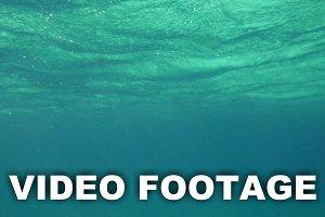 Wavy Sea Surface Underwater