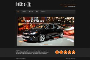 Motors and Cars - Joomla theme