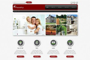 Realty - Business Joomla Theme