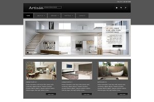 Artisan - Inter Design Joomla Theme