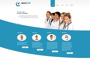 Medicom - Medical Joomla Theme