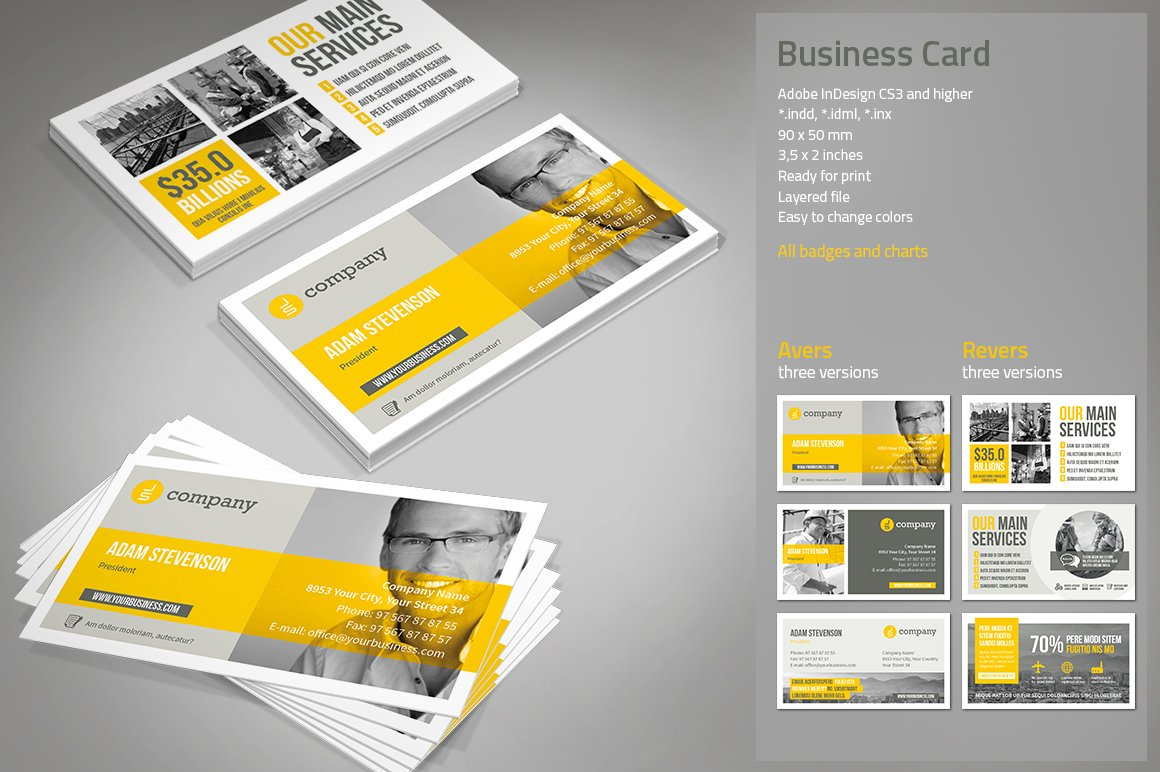 Business Card ~ Business Card Templates ~ Creative Market