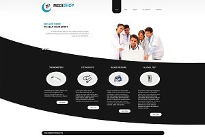MediShop - VirtueMart Joomla Theme