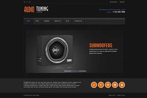 AudioTuning - eCommece  Joomla Theme