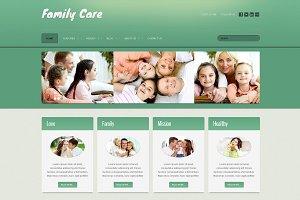 Family Care - Joomla Theme