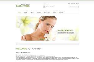 Naturmon - VirtueMart Joomla Theme