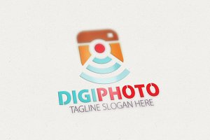 Digital Photo Logo