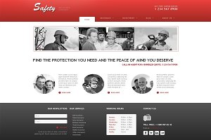 Safety - Insurance Joomla Theme