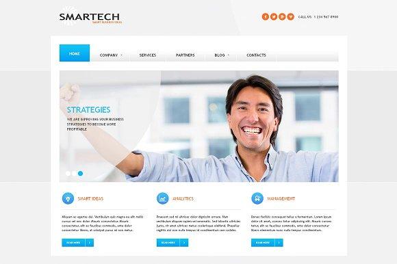 Smartech business joomla theme joomla themes creative market smartech business joomla theme joomla flashek Images