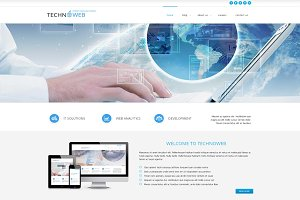 TechnoWeb - Consulting Joomla Theme