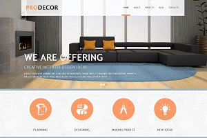 Pro Decor - Business Joomla Theme