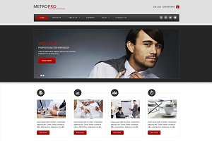 Metro Pro - Business Joomla Theme