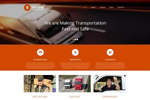 Movers 24 - Joomla Theme