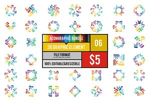 36 Graphic Element Bundle #6