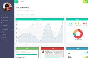 Meteorboard - ReactJS Admin Theme