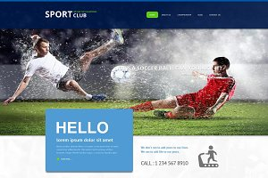 Sport Club - Joomla Theme