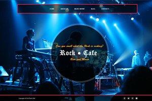 Rock Cafe - Responsive Joomla Theme