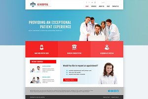 AS Hospital - Medical Joomla Theme