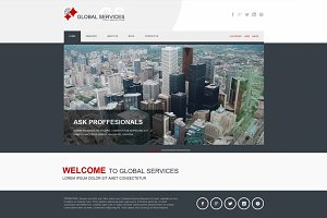 Global Services - Joomla template