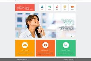 Creative View - Joomla Theme