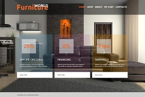 Furniture World - eShop Joomla Theme