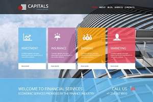 Capitals - Business Joomla Template