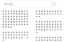 4000 Material Design Icons - NOVA