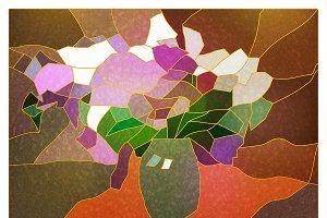 №56 Mosaic Blossoming lilac