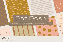 DOT DASH | Seamless Patterns