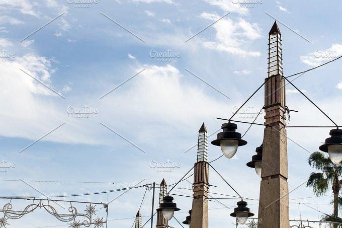 Churches and streets. Jerez de la Fr - Architecture