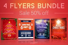 Simple Christmas Flyers Bundle