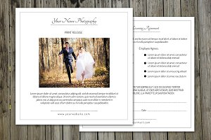 Photographer Print Release form-V144