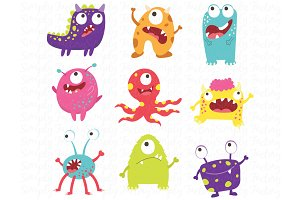 Litter Monster Set