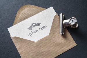 Hybrid Auto Logo Template