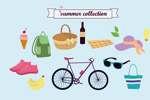 Summer collection. Picnic collection