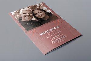 Funeral Program Template-V298