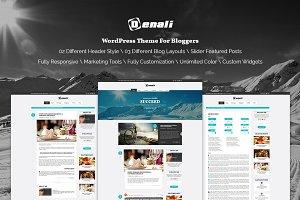 Denali - Professional Blogging Theme
