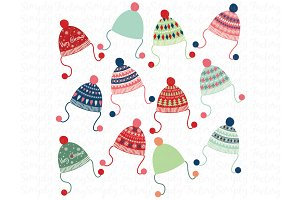 Christmas Winter Hat Collection