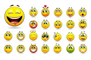 Smiles Vector Set