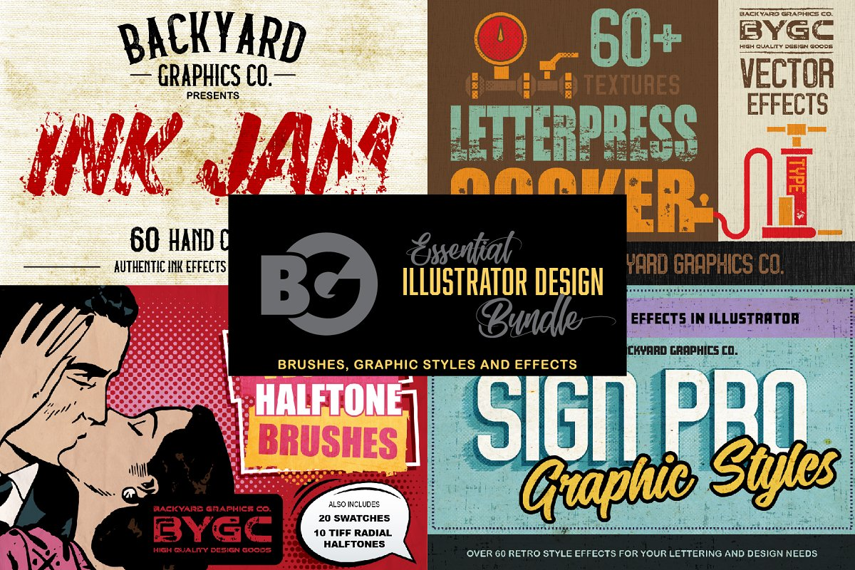 Essential Illustrator Design Bundle Free Download