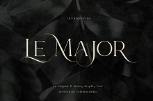 Le Major | Display Serif Font
