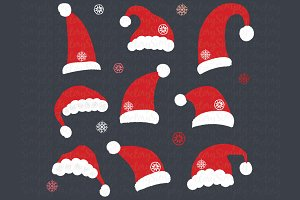Chalkboard Santa Hat Collection