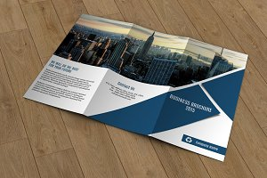 Trifold Corporate Brochure -V305