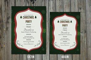 Christmas Invitation Template-V146