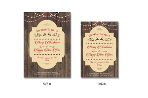 Christmas Invitation Template - V147