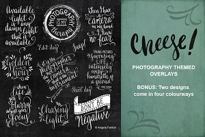 Photography Themed Overlays