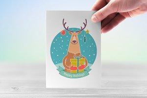 Lovely festive reindeer
