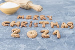2021 Christmas Cookies Christmas Cookies 2021 Of Gingerbrea Stock Photo Containing 2021 And High Quality Food Images Creative Market