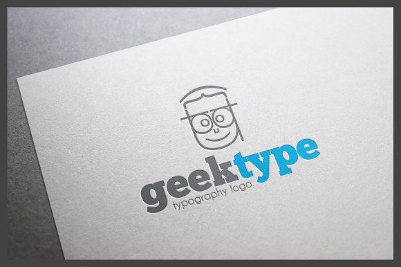 Geektype Logo Template